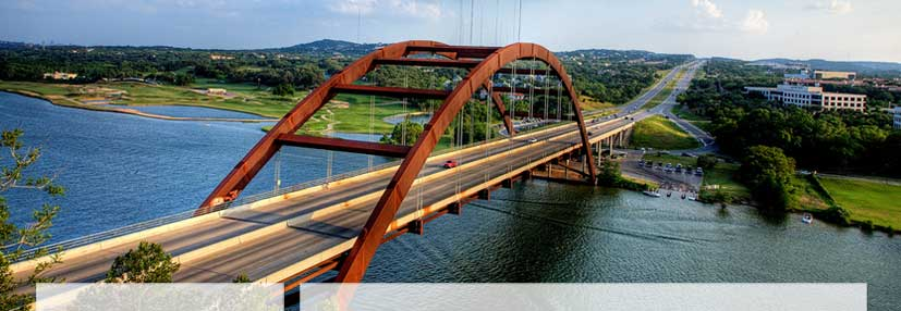 Austin's Pennybacker Bridge over the Colorado River